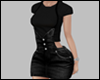 E* Black OverallSkirt RL
