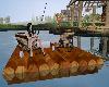 S.S~ Fishing Raft