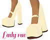 yellow 50s pumps