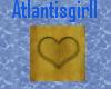 (AG)Gold Heart Lights
