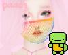 P. Rainbow mask