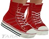 Red High Tops