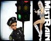 ! STOP LIGHT TRAFFIC BLK
