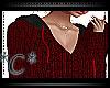 *C*Autumn Sweater-DarkRd