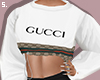 s. gucci oversized white
