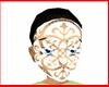 Face Mask White Pattern