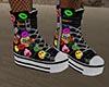 GL-Tegan Black Sneakers