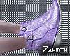 Lilac Sparkle Boots