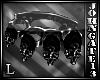 Dark Skull Knuckles L