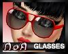 *NoA*Mod Glasses Red