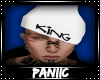 ♛ King Beanie |WHT