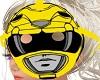 M/F Yellow Ranger Helmet