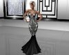 Black Diamond Gown