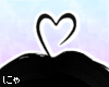 N' Black Heart Ahoge