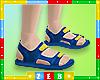 Kids Lettered Sandals