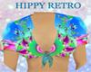 (KK)RETRO TOP HIPPY