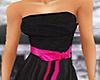 Armagi Black n Pink Gown