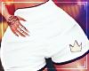 ♛ Sport Short White