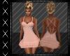Peach Date Dress
