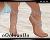 .L. Beach Feet Blue