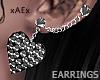 e Spiked Earrings
