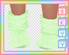 Kids Green Socks