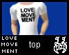 [LL]LoveMovement White M