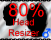 *M* Head Resizer 80%