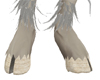 Ivory split hooves