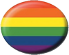 Gay Pride Chest Badge