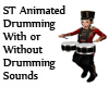 ST Animated Drumming