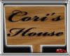 {SA} Coris House Sign