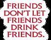 Vampire friends sticker