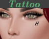 Tattoo Left Cheek H