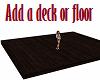 NoPose Wood Deck / Floor