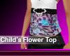 Childrens Flower Top 2