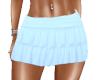 Skirt Ruffled Blue