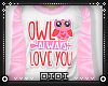 !D! Owl Love You Top