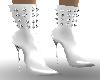 ! sB spike boots ivory