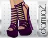 purple platform & nail