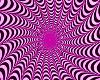 Shockin pink/black spin