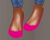 Hot Pink Flat Shoes