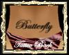 TA butterfly tattoo back