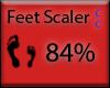 [CC] Feet Scaler 84%