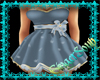 WinterBlue Snow Dress