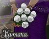 [X] White Wedding Boquet