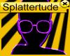 !s! Nerd Glasses Purple