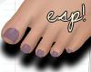 esp!Sweet taupe feet
