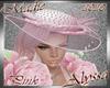 !a Alyssa Pink Hat