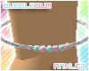 BubbleGum Anklet